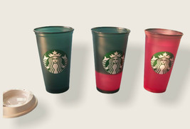 Starbucks 2020 Color Changing Hot Cup 16 ozs with Lid - $13.09