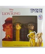 NEW 2019 Disney The Lion King Simba Nala PEZ Dispensers with Candy - $19.79