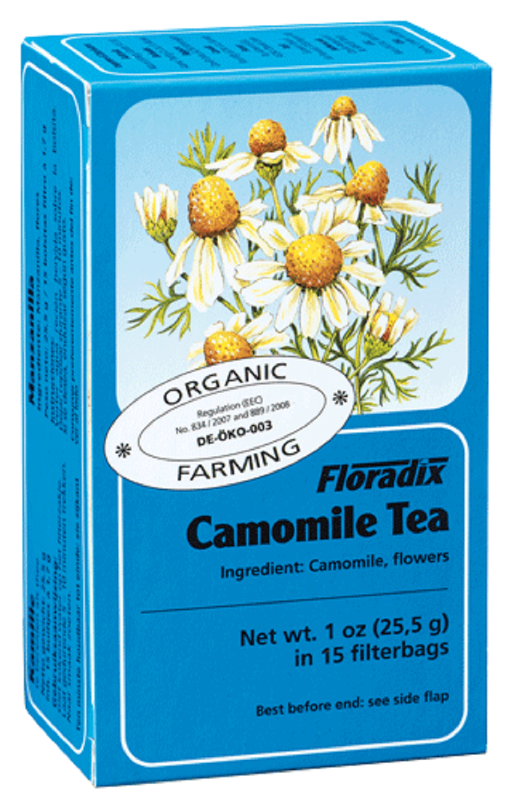 Camomile Herbal Teabags 15 filterbags (1.7g) - $3.23
