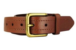 NEW LEVI'S MEN'S STYLISH CLASSIC PREMIUM GENUINE LEATHER BELT BROWN 11LV3253 image 3
