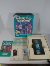 Clue II Murder in Disguise VCR VHS 1987 Parker Brothers Board Game Complete - $26.41