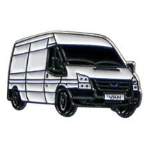 White Van Man Delivery Driver Metal Enamel  Lapel Pin Badge Lapel /tie Pin Badge