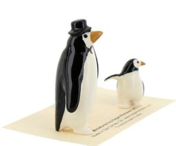 Hagen Renaker Miniature Bird Penguin Family Papa Mama Baby Ceramic Figurines image 7