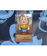 Sheriff Woody Disney Pixar Toy Story Tin Wind Up. Brand New. 4 inches tall. - $19.68