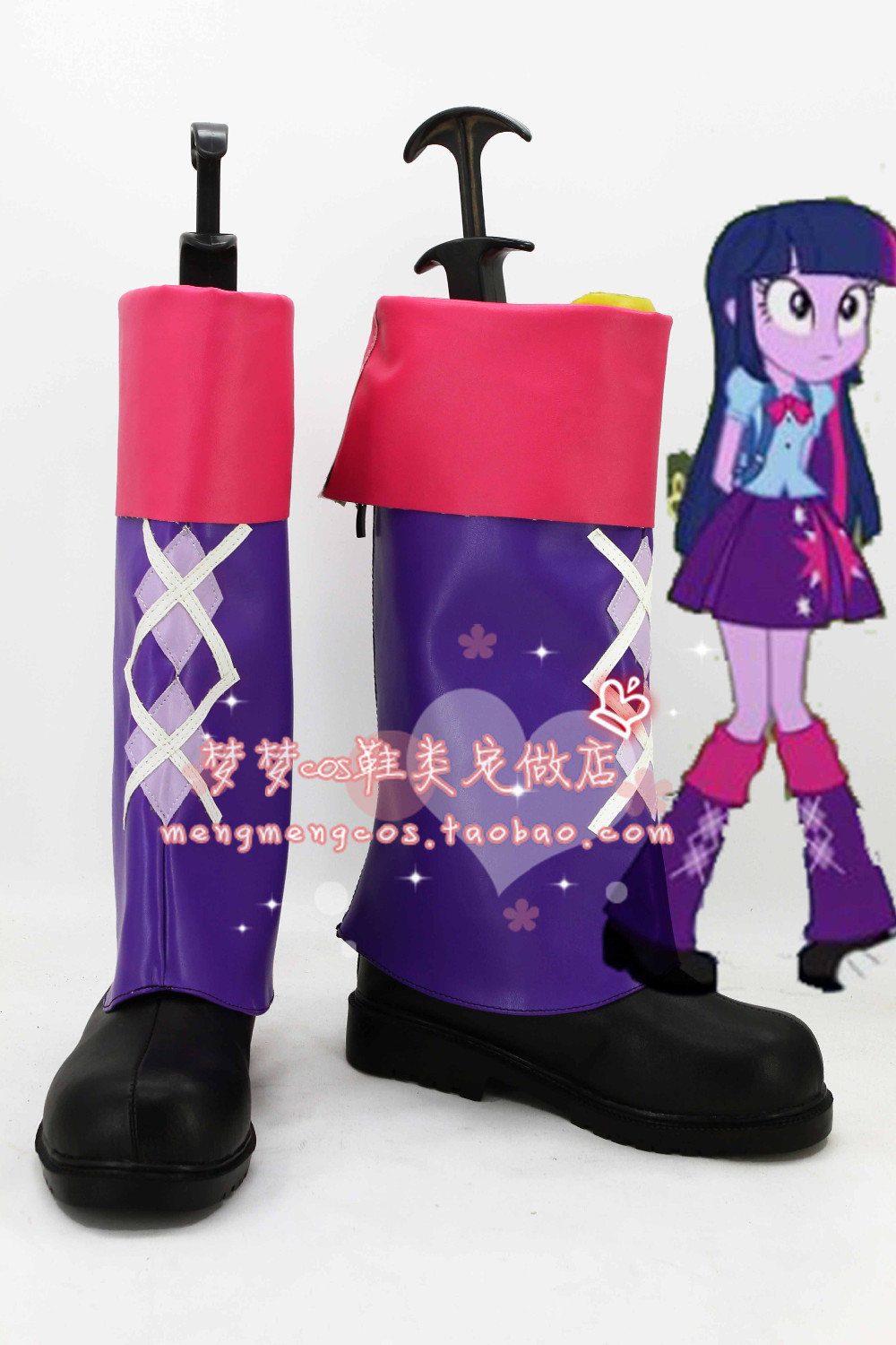 My Little Pony: Equestria Girls - Rainbow Rocks Twilight Sparkle cosplay shoes for sale  USA