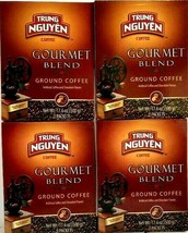 Trung Nguyen Gourmet Blend Ground coffee 17.6 oz (  Pack of 4 ) - $39.59