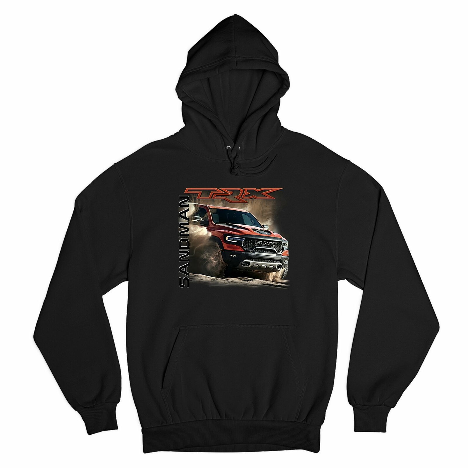 Primary image for RAM 1500 TRX Sandman Sweatshirt Off-Road V8 Pickup Truck Licensed Hoodie