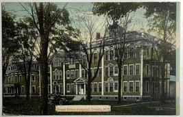 Old Divided Back Postcard Broad Street Hospital, Oneida, NY Unposted  - $14.65