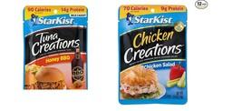 StarKist Creations, (6 Chicken Salad,6 Honey BBQ )Total 12 - $29.69