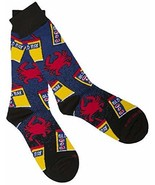 Officially Licensed Old Bay Seafood Seasoning Crabs N Cans Dress Socks (... - $14.80