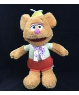 Just Play Muppet Babies Talking Fozzie Bear 12 inch Plush Disney Junior - $23.33