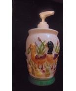 Lotion Or Soap Dispenser-2003 Golden King Imports Inc.-Ducks-Lily Pads-C... - $4.99