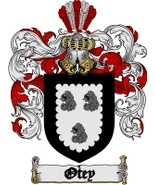 Otey Family Crest / Coat of Arms JPG or PDF Image Download - $6.99