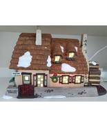 The Christmas Carol Cottage Dept 56 Dickens Village 58339 Heritage Victo... - $28.00