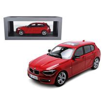 BMW F20 1 Series Red 1/18 Diecast Car Model by Paragon 97004r - $93.33