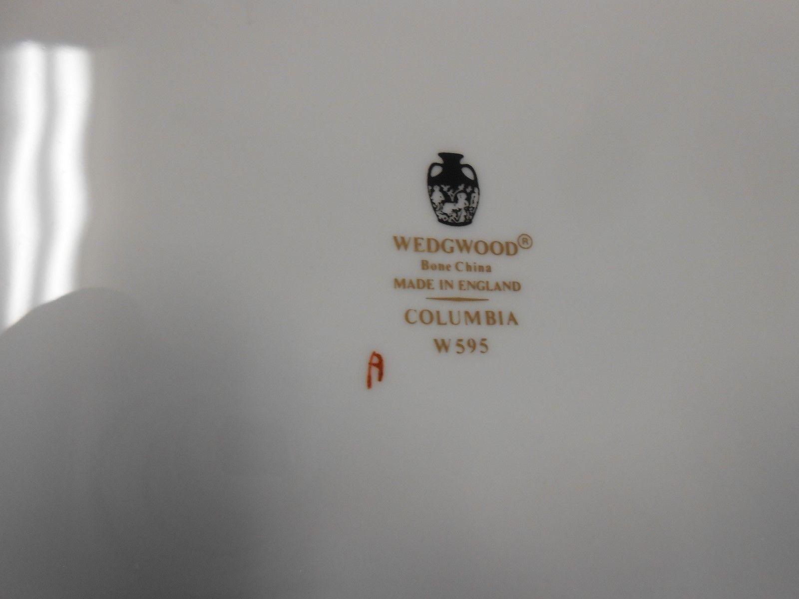 "Magnificent WEDGWOOD ""Columbia""Bone China-England #W595....Large PLATTER image 3"