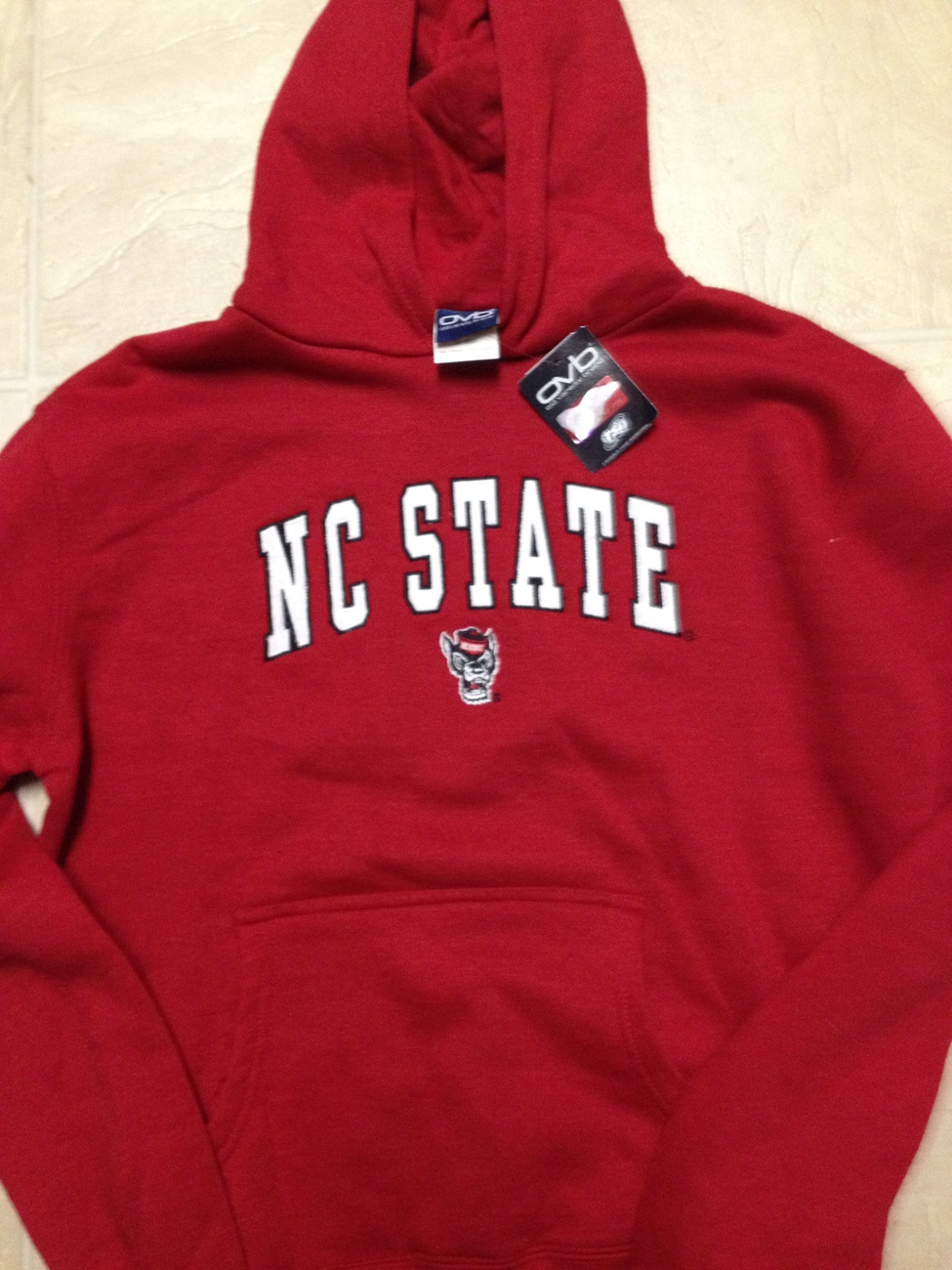 North Carolina State Wolfpack NCAA Youth Hooded Sweatshirt NWT SZ L 14-16