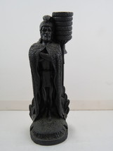 Vintage Coco Joe's Lava Figurine - King Kamehameha by Tiki Torch - With Tag - $35.00