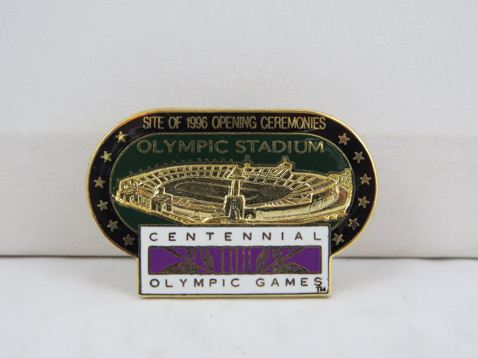 1996 Summer Olympic Games Pin- Centeninial Stadium Atlanta - Amazing Design - $25.00