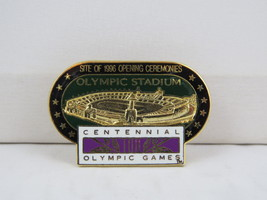 1995 Summer Olympic Games Pin- Centeninial Stadium Atlanta - Amazing Design - $25.00