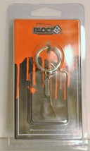 Horror Block Exclusive Nickel Plated Zinc Meat Cleaver Keychain Brand New - $7.95