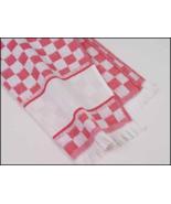 Red Verona Kitchen Towel 16x24 14ct cross stitc... - $8.50