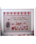 Cuochi In Erba cross stitch chart Cuore e Batticuore  - $10.80