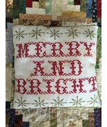 Merry and Bright cross stitch chart Death by Thread  - $12.00