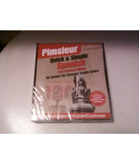 BRAND NEW & SEALED Pimsleur Quick & Simple: Spanish 2nd Revised Edition ... - $33.00