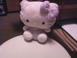 Hello Kitty Plush Doll--Lavender/White Small Plush - $15.00
