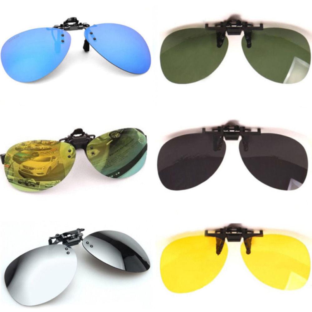 b4ff76ca0cc Men Women New Popular Polarized UV400 Lens Clip-on Flip-up Myopia SunGlasses  -  4.25 -  4.95