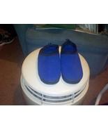 Avon Unisex Slippers With Memory Foam--Blue w/Black Trim Size MED--ADULT... - $15.00