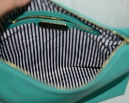 Madison West Product Number BGW10511 Extra Large Turquoise Shoulder Bag In Bag image 6