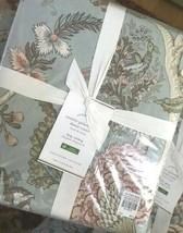 Pottery Barn Cosette Duvet Cover Blue King Palampore Floral No Sham - $184.00