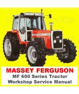 MASSEY FERGUSON MF600 Series SHOP Factory SERVICE MANUAL MF675 MF690 MF6... - $11.18