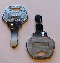 Columbia / Harley Davidson 1989-95 Replacement Keys Golf Cart Ignition 82' - $6.81