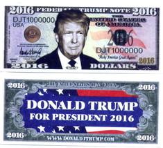 Donald Trump Novelty Money Bills NEW - $2.00