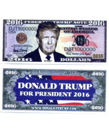 Donald Trump Novelty Money Bills NEW - $2.00