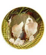 Danbury Mint Boxer Dog plate by Simon Mendez Two of a Kind CP2290 - $29.68