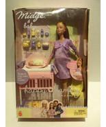 RARE 2002 Barbie Pregnant Midge & Baby Happy Fa... - $156.75