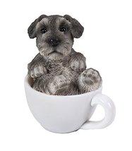 Mini Schnauzer Adorable Mini Teacup Pet Pals Puppy Collectible Figurine ... - £11.38 GBP