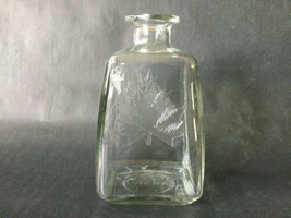 "Vintage 7"" Tall Maple Syrup Glass Jar Made in USA 1968 #3 Anchor Hocking -No top - $11.19"