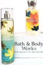 Bath and Body Works Wild Honeysuckle Body Lotion & Body Splash - $21.29