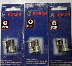 Bosch DWS2  #2 Phillips Drywall Screw Setter 3-2pks. - $4.95