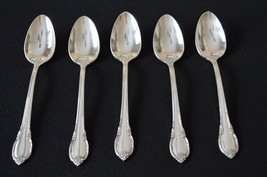 1847 Rogers Bros Pattern Remembrance Set of 5 teaspoons - $14.85