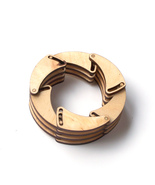 Shutter - laser cut wooden bracelet - $39.00
