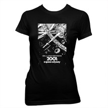 2001: A Space Odyssey Poster - Kubrick - Women's Hand-Screened Cotton T-... - $19.20+