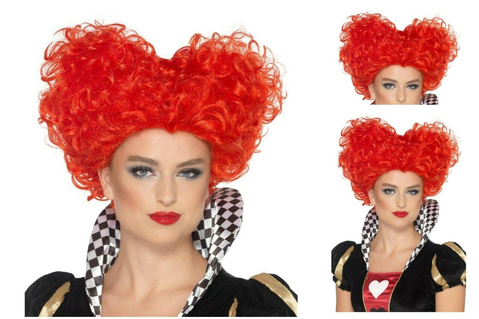 Womens 80/'s Pop Wild Child Fancy Dress Wigs /& FREE Fishnet Gloves Big Choice Fun