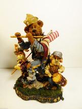 Boyds & Friends Folkstone Sam Libby & Ellis America is a tune Figurine #... - $34.65