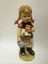 "Figurine VINTAGE ARNART 5TH AVE HAND PAINTED - Litte Gardeners 9"" RNART - $15.00"